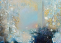 """Genesis"" acrylic on canvas 44"" x 62"""